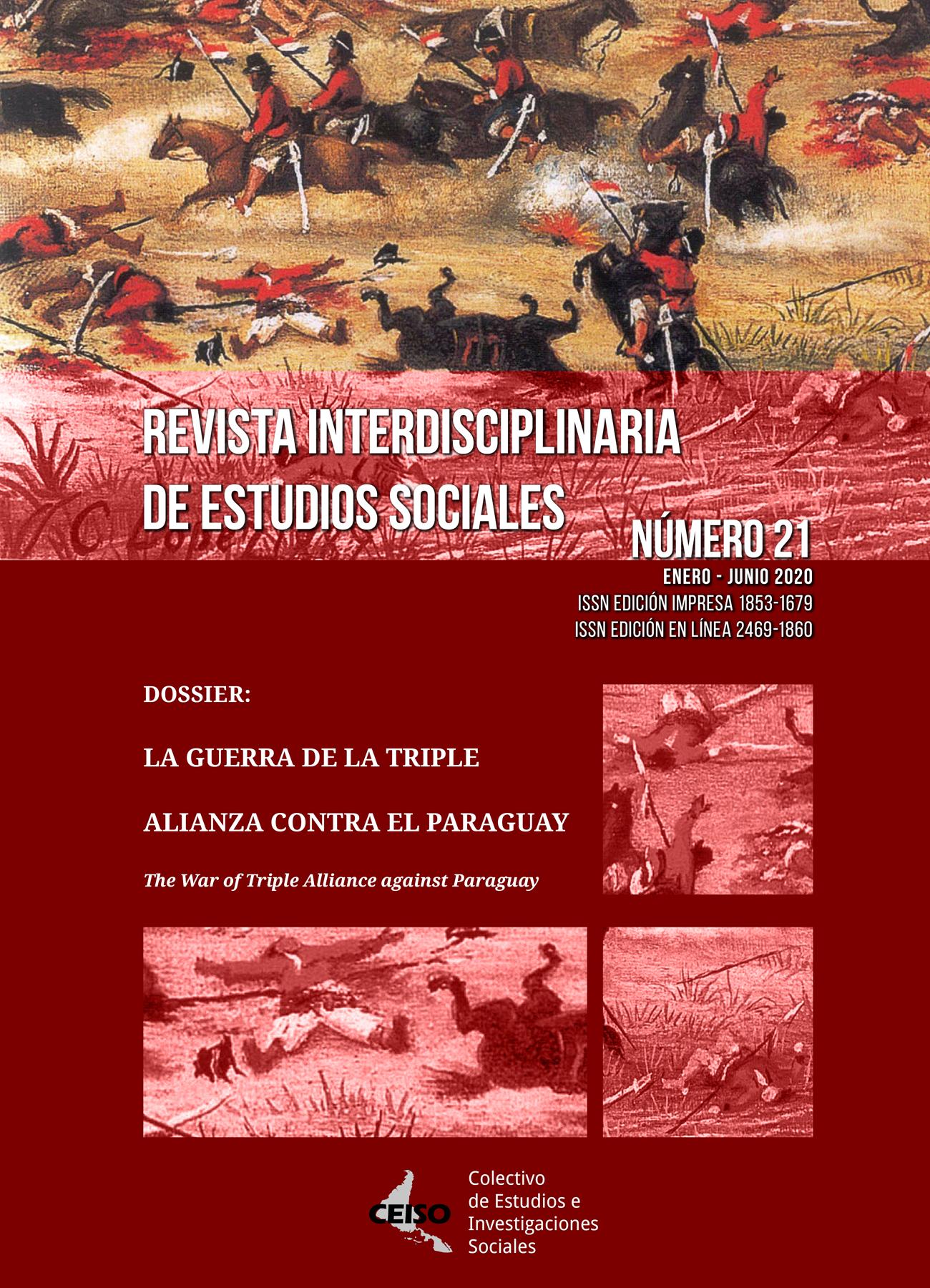 Ver Núm. 21 (2020): Enero / Junio 2020 - Revista Interdisciplinaria de Estudios Sociales