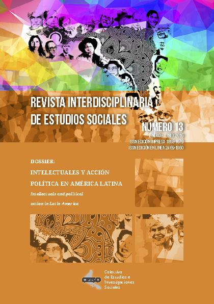 Ver Núm. 13 (2018): Enero / Junio 2016 - Revista Interdisciplinaria de Estudios Sociales