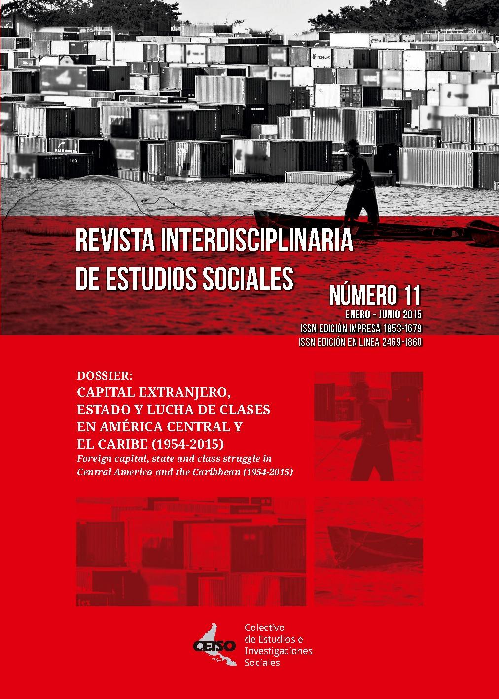 Ver Núm. 11 (2017): Enero / Junio 2015 - Revista Interdisciplinaria de Estudios Sociales