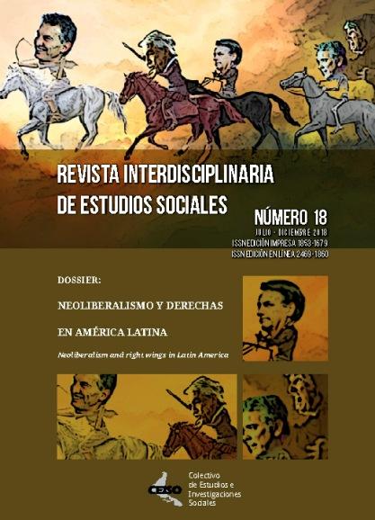 Tapa dossier 18, illustración caricatura de jinetes de apocalipsis, gobiernos de derecha de latinoamérica